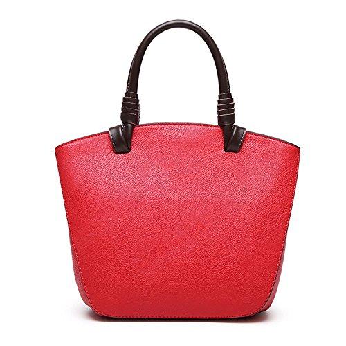 Polyvalent Zll Et Épaule Red Femmes De À Shell Simple Main Women's Bandoulière Bag Sac qnfrw1zq