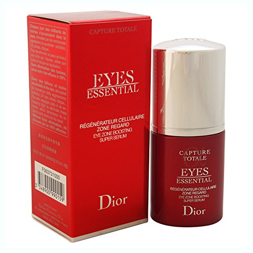 Christian Dior Capture Totale Eyes Essential Eye Zone Boosting Super Serum for Unisex, 0.5 Ounce by Dior