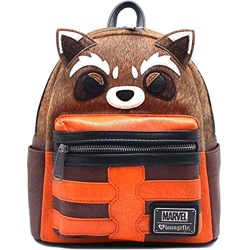 Loungefly Rocket Raccoon Guardians Of The Galaxy Costume Cosplay Mini Backpack