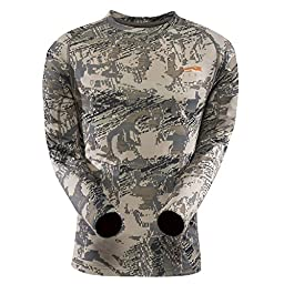 Sitka Core Lightweight Crew Long Sleeve, Optifade Open Country, Large