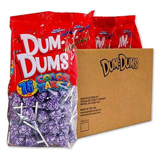 Dum Dums Purple Grape 4-75 count bags