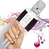 TOSING Wireless Karaoke Microphone for Kids Teenagers Family Adults, Portable Bluetooth Karaoke Machine