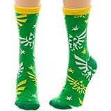 Nintendo Zelda Jrs Crew Socks