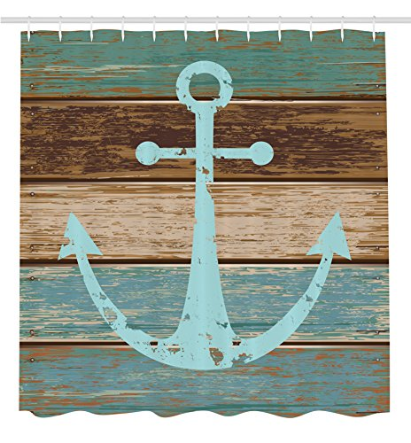 Ambesonne Nautical Different Polyester Extralong