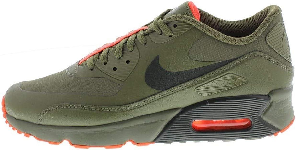 Nike Air MAX 90 Ultra 2.0 Le (GS), Zapatillas de Running para Niños, Multicolor (Medium Olive/Sequoia 200), 35.5 EU: Amazon.es: Zapatos y complementos