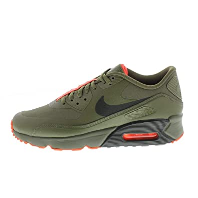 new style 01b0d 20f95 Nike Unisex Adults  Air Max 90 Ultra 2.0 LE GS Trainers Multicolour (Medium  Olive
