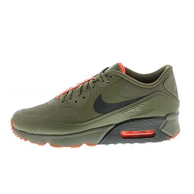 e1d1a2d9e2b Nike Unisex Adults  Air Max 90 Ultra 2.0 LE GS Trainers Multicolour (Medium  Olive