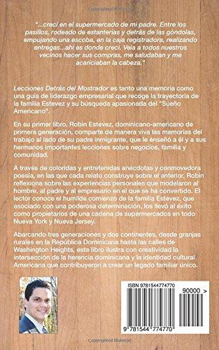 Lecciones Detras del Mostrador: Los principios que utiliza una familia empresaria para preparar a las siguientes generaciones (Spanish Edition): Robin ...