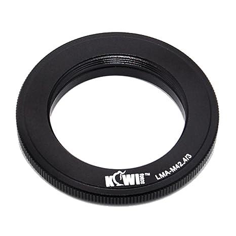 KIWIFOTOS LMA-M42/_4//3 M42 Lens to Olympus 4//3 Panasonic DMC-L1 Leica 3 Camera Mount Adapter