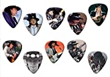Stevie Ray Vaughan (Limited to 100) Set of 10 Electric Acoustic Guitar Plectrums