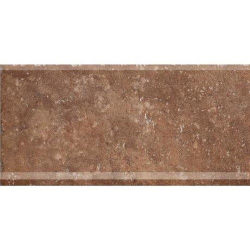 Marazzi Walnut Canyon COVE Base Mosaic, 6 x 13, golden