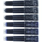 Cross Fountain Pen Cartridge Ink Refills Blue/Black Ink Cartridges 6 per Card (8924)