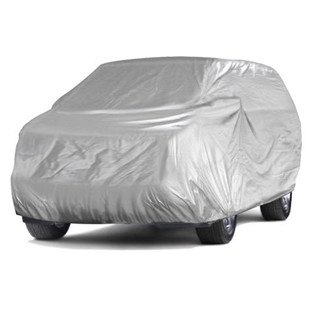 NOVSIGHT Protective Car Cover SUV Cover with 170T Polyester Small - 181 * 59.05 * 51.18 Inches Anti-UV/Ice / Snow/Dust Covering Efficient for All Seasons