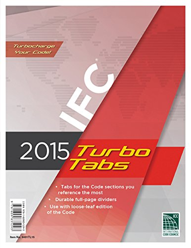 2015 International Fire Code Turbo Tabs for Loose Leaf Edition -  International Code Council, Loose-leaf