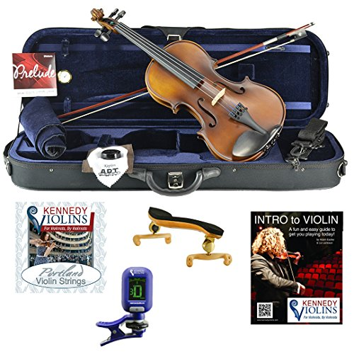 Ricard Bunnel G1 Violin Outfit 4/4 (Full) Size by Kennedy Violins