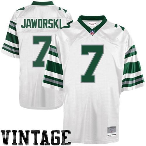 Philadelphia Eagles Ron Jaworski Premier Replica Mitchell Ness Throwback Jersey (Large) ()