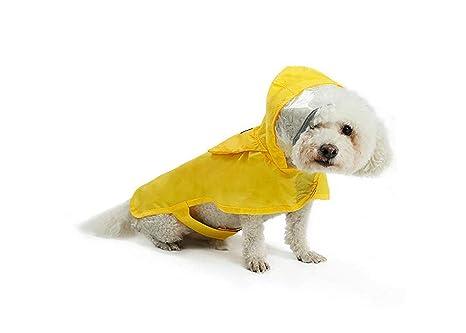 Jiansheng Impermeable para Mascotas, Perro pequeño, Mediano ...