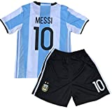 jacobsoccerworld Messi Jersey 2018 World Cup Qualifiers Argentina Soccer Jersey Youth