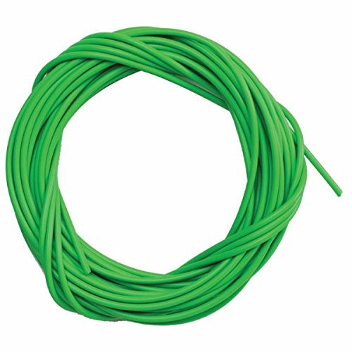 Sunlite Lined Brake Cable Housing, 5mm x 50ft, Green - Housing Mm 5 Brake