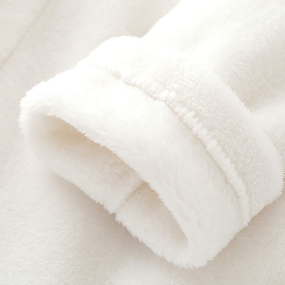Extpro Kids Girls Soft Plush Flannel Unicorn Hooded Bathrobe