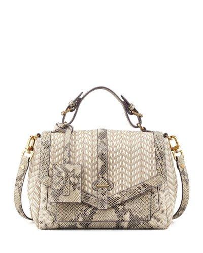 be806ffdc341 Tory Burch 797 Medium Satchel - Natural Raffia Natural Snake  Amazon.ca   Shoes   Handbags