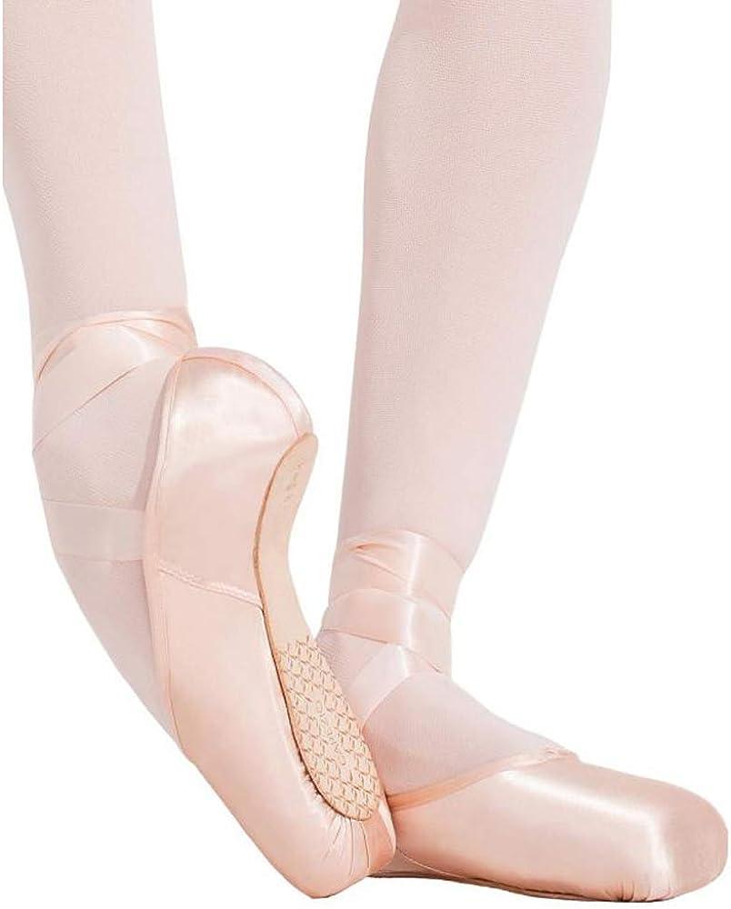 1142W Capezio Toe Pointe Shoe 10.5 Petal Pink