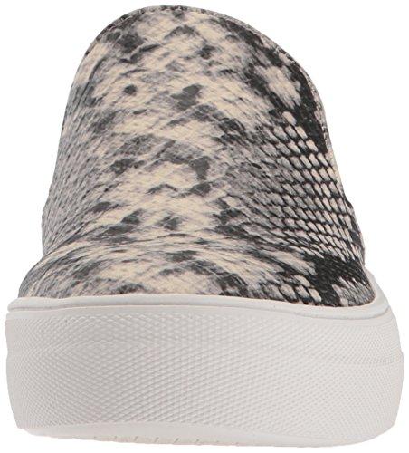 Steve Madden Vrouwen Kieuwen Fashion Sneaker Natuurlijke Slang