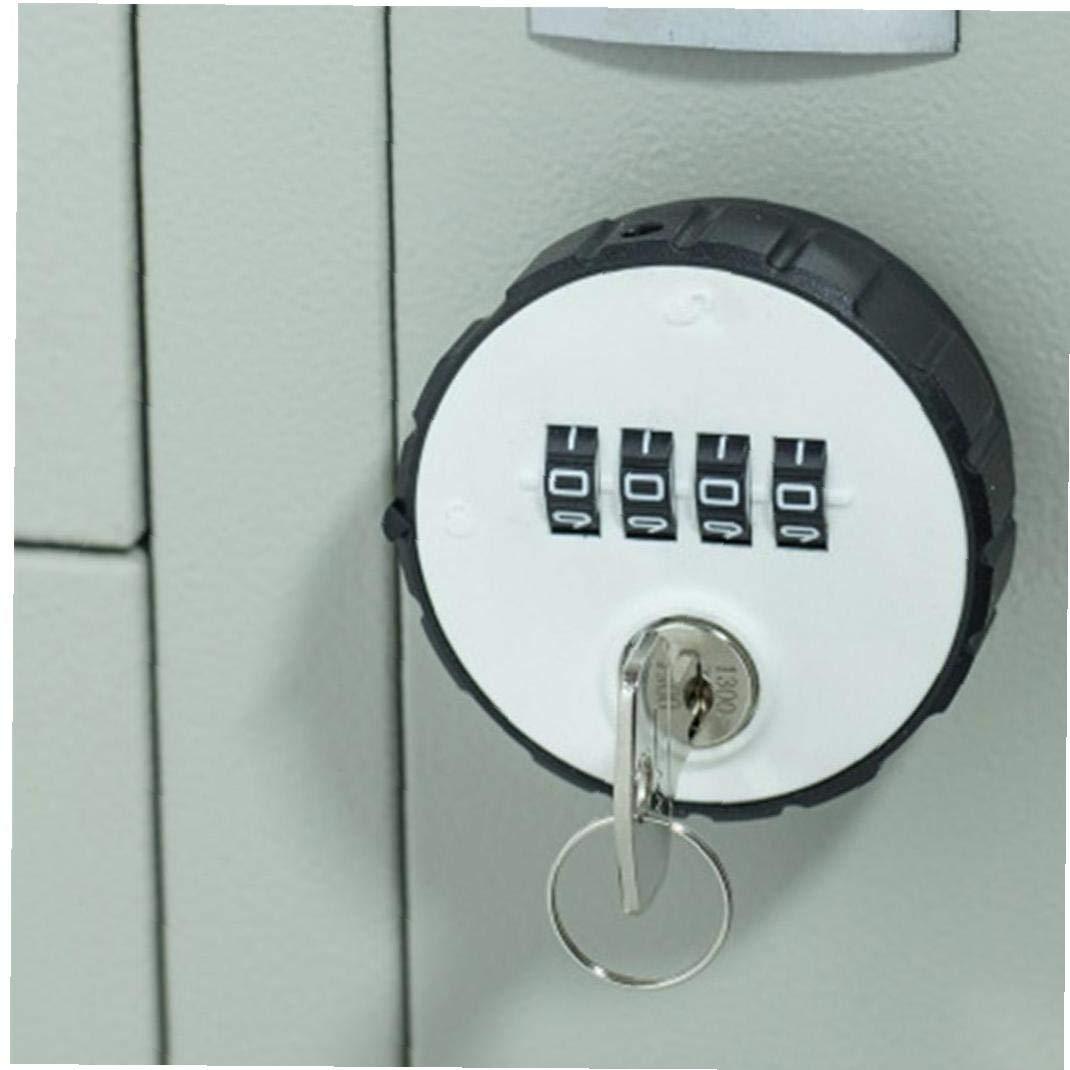 Combinazione Gabinetto Cam Lock 4 Cifre Keyless per Il Cassetto Porta Palestra Scuola Locker con Tasto Reset