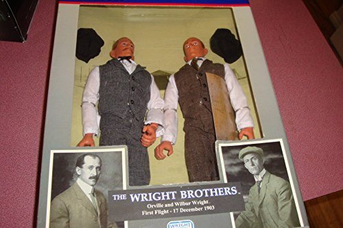 The Wright Brothers Tribute To Valor 12 Inch figure 2 pack (Orville & Wilbur)