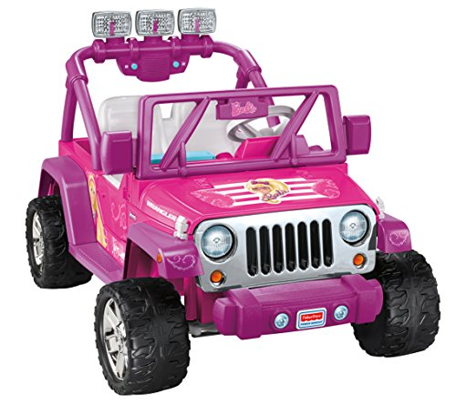 Power Wheels Barbie Deluxe Jeep Wrangler