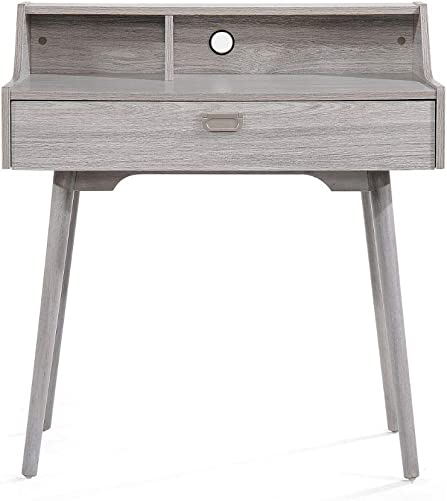 Christopher Knight Home Ellison Mid-Century Modern Fiberboard Home Office Desk