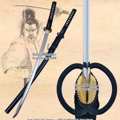 Handmade Sharp Japanese Samurai Sword Musashi Wakizashi