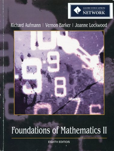 Foundations of Mathematics 2