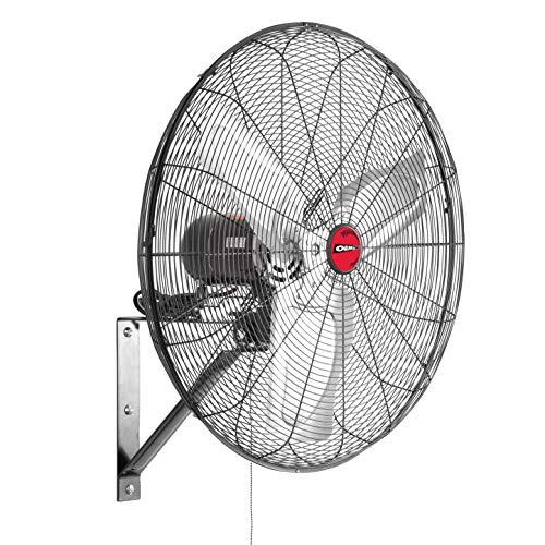 "OEM Tools 24883 24"" Oscillating Wall Mount Fan, Old Model"