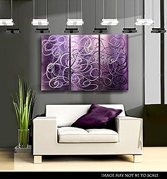 U0026quot;Confused Passionu0026quot; Modern Metal Wall Art Decor Sculpture