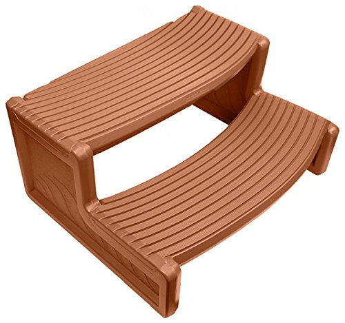 Confer Plastics Handi-Step for Spa (Medium Redwood) For Sale