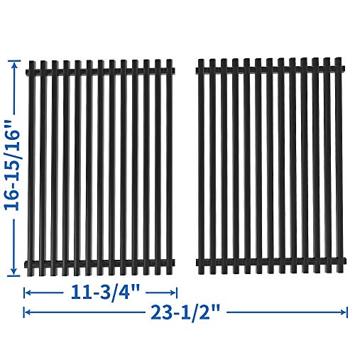 ate Grill Grid Replacement for Nexgrill 720-0825, Brinkmann 810-2500, 810-4425-0, 810-6440-T, Pro Series 2600, Grill Chef, Porcelain Steel 17 inch Cooking Grid Grill Grate-SS-KW004 ()