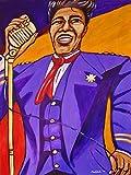 JAMES BROWN PRINT poster godfather of soul funk sex machine greatest hits cd lp vinyl man cave