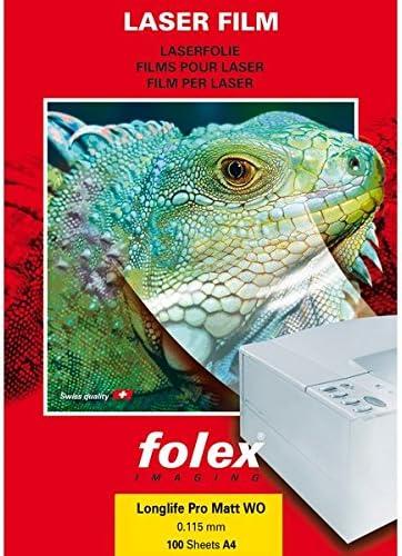 Folex 583002973811544000Film für Laserdrucker 100my, Packung 100