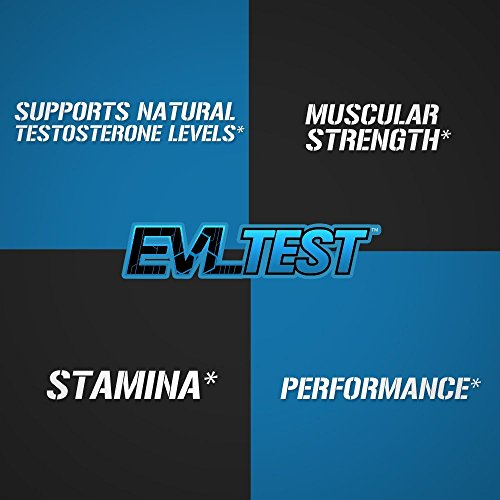 Evlution Nutrition Testosterone Booster Pills EVL Test Training & Recovery Amplifier