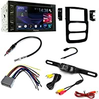 DVD CAR CD STEREO RECEIVER DASH INSTALL MOUNTING KIT WIRE HARNESS AND RADIO ANTENNA ADAPTER FOR DODGE RAM TRUCK 2002 -2005
