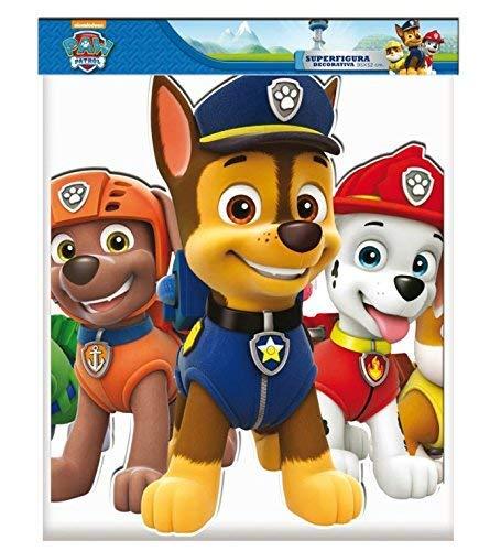 0866, Cartone Supersilueta Canine Patrol, Multicolore, per Feste e Compleanni, 95 cm 2 spesavip