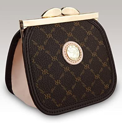 a840479257 Signature Brown Coin Purse by Rioni Handbags   Luggage  Handbags  Amazon.com