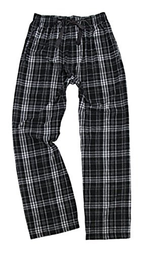 Grey Flannel Pant (boxercraft Youth Flannel Pant Black/Grey, Large)