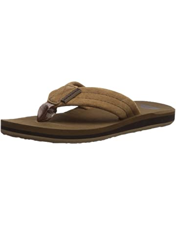 6a23d93409bd Quiksilver Carver Suede Youth Flip-Flop (Toddler Little Kid Big Kid)