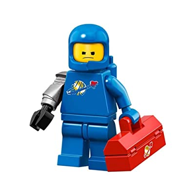 The LEGO Movie 2 Collectible MiniFigure - Apocalypse Benny (Sealed Pack): Toys & Games