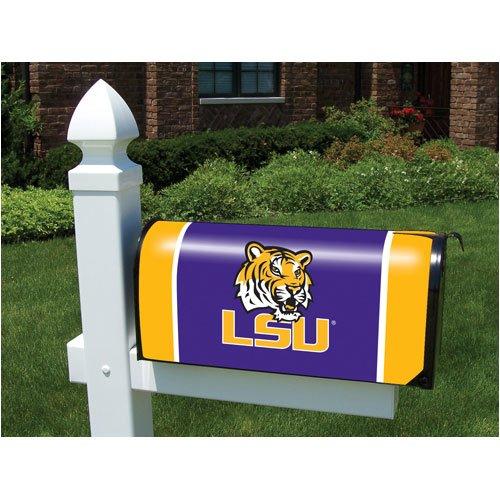Cover Mailbox Team (NCAA LSU Tigers Mailbox Cover)
