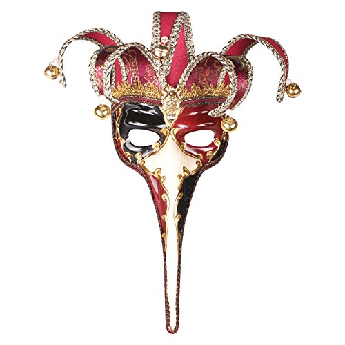 Masquerade Monster Party Venetian Mask Long Nose Mask Halloween Art -