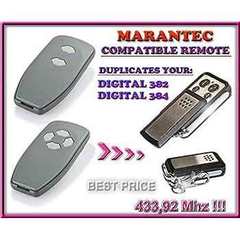 Marantec Digital 382 433 Digital 384 433 Compatible Hand