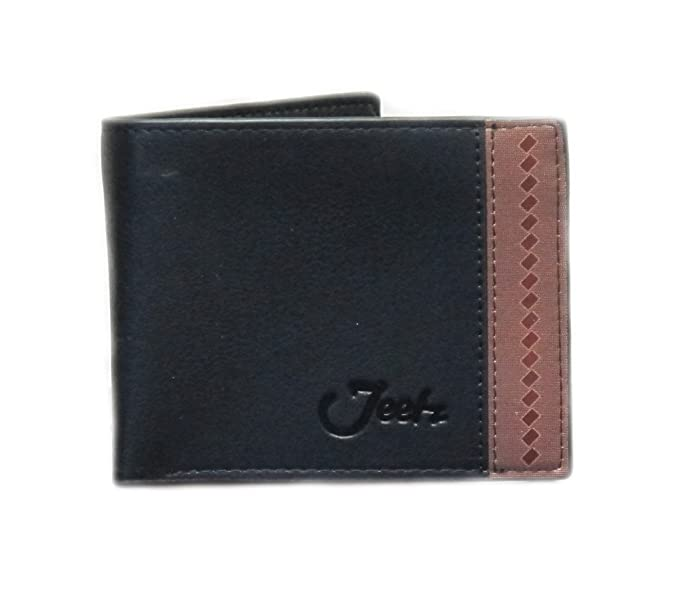 Jeetz Collection Mens Black Wallet